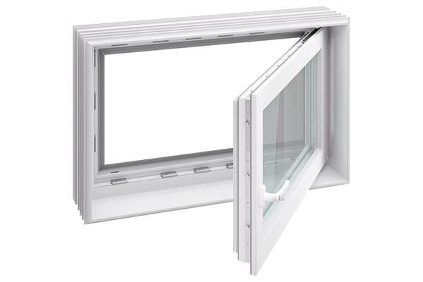 Kellerfenster Dämmen aco therm 3.0 leibungsfenster für den keller