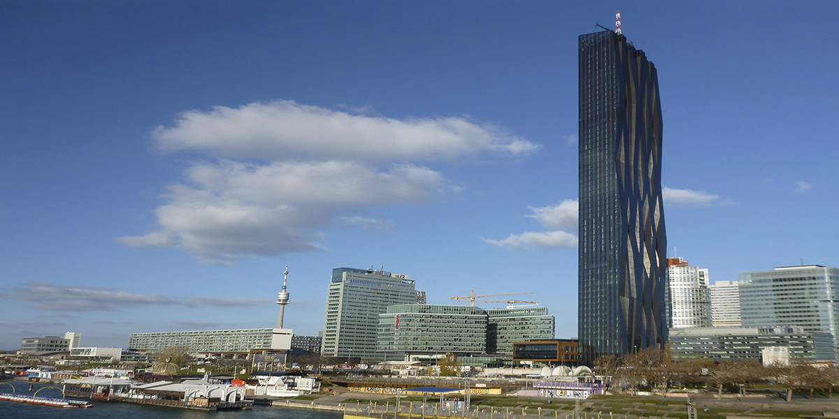 ACO Referenz DC Tower Wien (2014)
